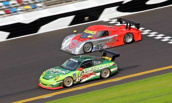 ricSpec Racer Sports driver Scott Monroe at 24 Hours of Daytona race