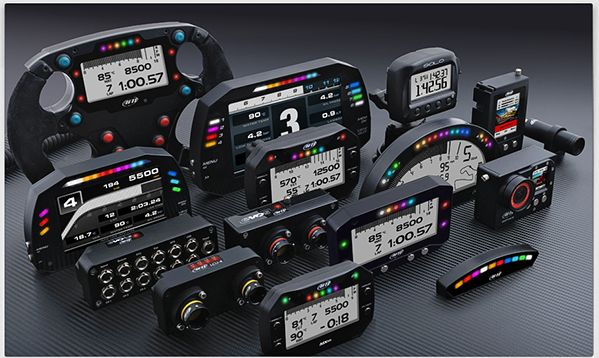 2016 AiM products car data acquisition
