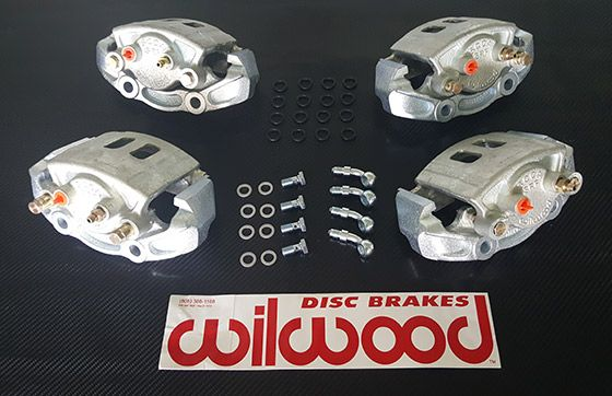 spec racer ford wilwood brake components